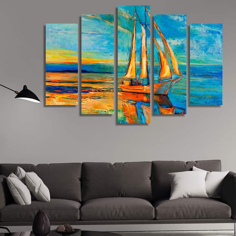 Модерни решения за украса на интериора: Картини, пана, стикери – красиво, бързо и лесно