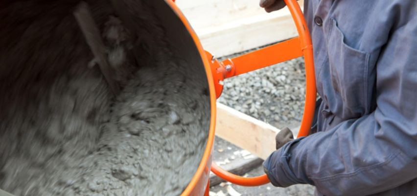 Знаете ли как сами да се заемете с приготвянето на бетон